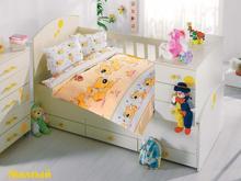 Комплект постельного белья для новорожденных ALTINBASAK, SEVIMLI, желтый