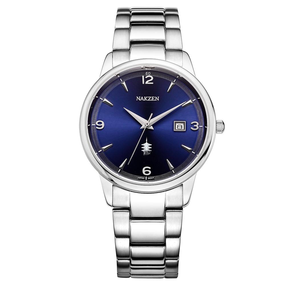 NAKSEN Classic Armbandsur Märke Luxury Quartz Män Klockor - Herrklockor - Foto 2