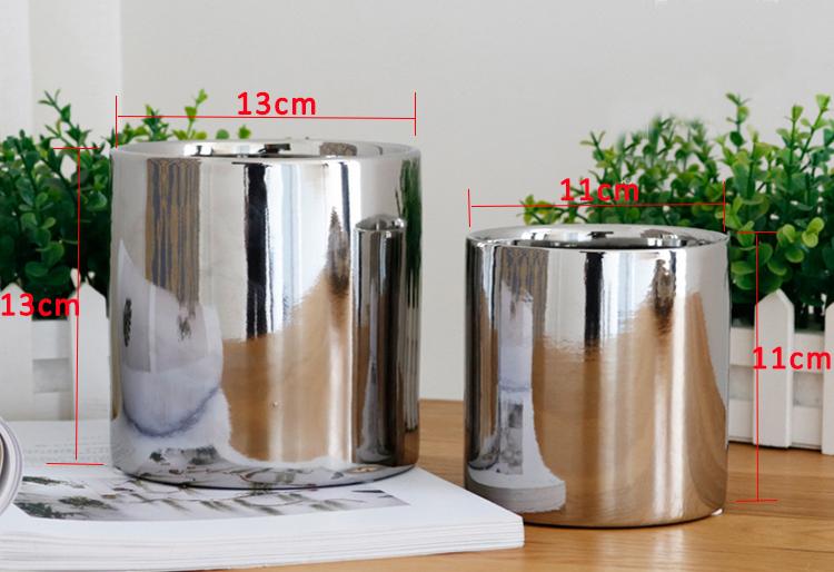Decoratie Planten Woonkamer : Plating goud zilver keramische vaas woonkamer tuin planten bloemen