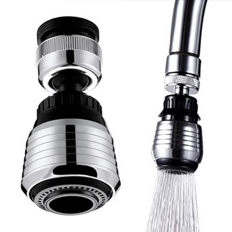 360 Rotate Kitchen Faucet Adapter Spray Water Purifier Saving Tap Head  Replacement Faucet Water Filter Kitchen Accessories In Kitchen Faucets From  Home ...