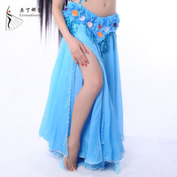2015 New Arrival Hawaii Belly Dance Maxi Skirts For Holiday Vestidos Profissionais Women
