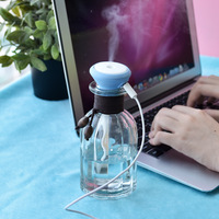 Air humidifier 280ml USB mini car humidifier glass household mute Aromatherapy humidifier