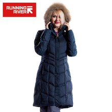 Running river marka kobiet narciarska kurtka ciepłego narty śnieg kurtki gorąca sprzedaż wysokiej jakości kobieta boisko sportowe płaszcz # l4993