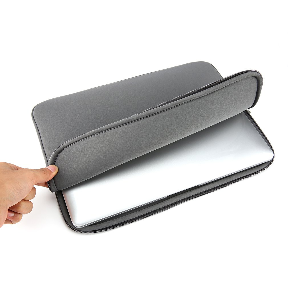 Laptop Black Sleeve Case Bag Pouch Storage For Computer A4O9 11/13/14/15/15.6 inch