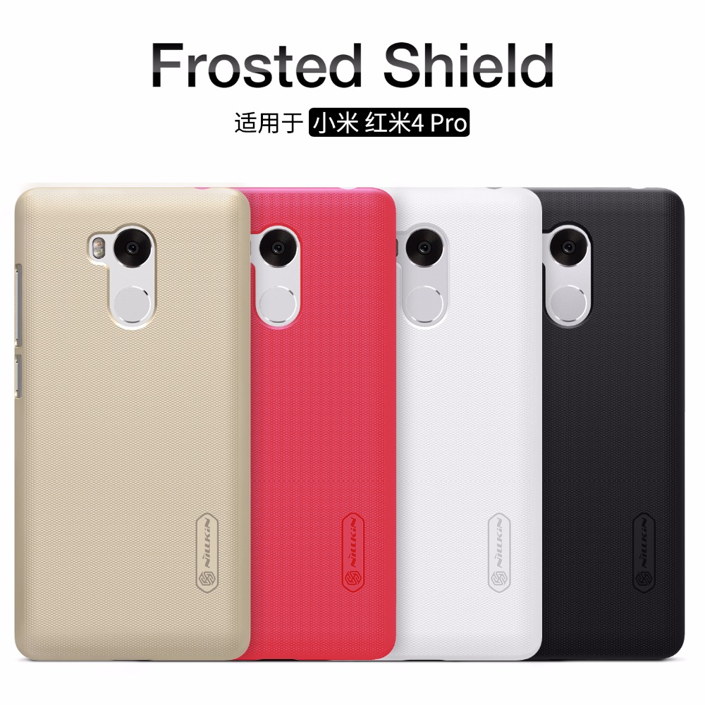 NILLKIN Super Frosted Shield Case For Xiaomi Redmi 4 4 Pro 4 Prime Back Cover With
