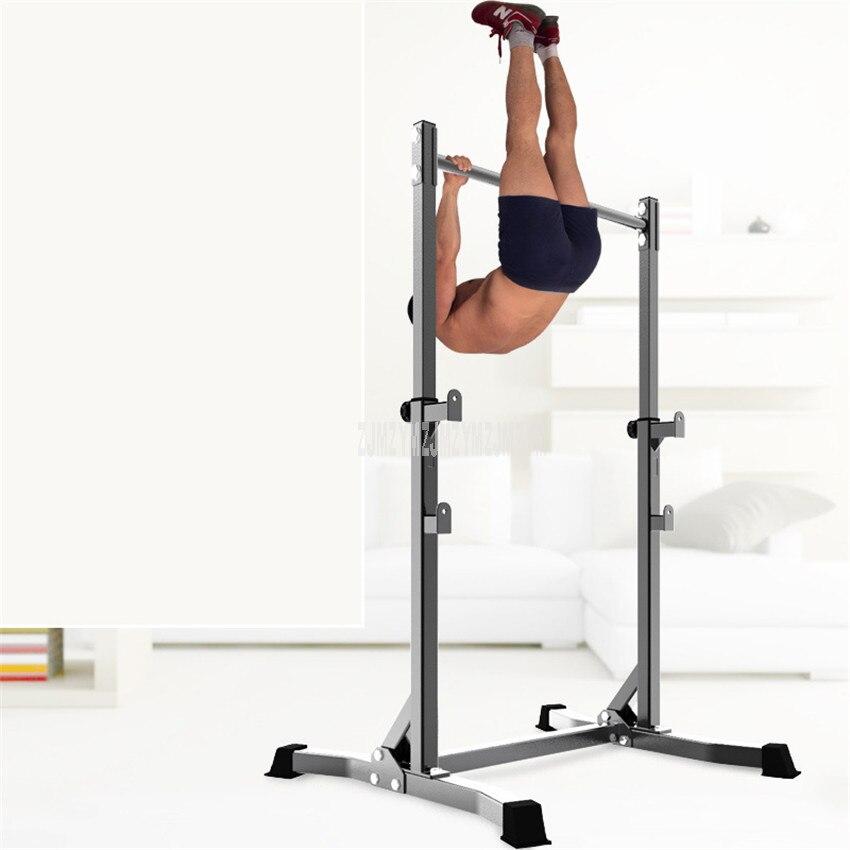 Exercício exercício queixo para cima puxar de cabeça para baixo piso barra horizontal estável interior esporte equipamentos de fitness ginásio equipamentos de exercício - 2