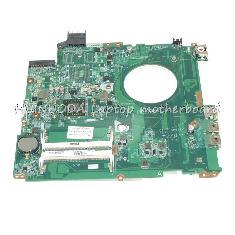 NOKOTION DAY22AMB6E0 Mainboard For HP Pavilion 15-P laptop motherboard A8-6410 cpu onboard DDR3 762526-501 762526-01 Full Test