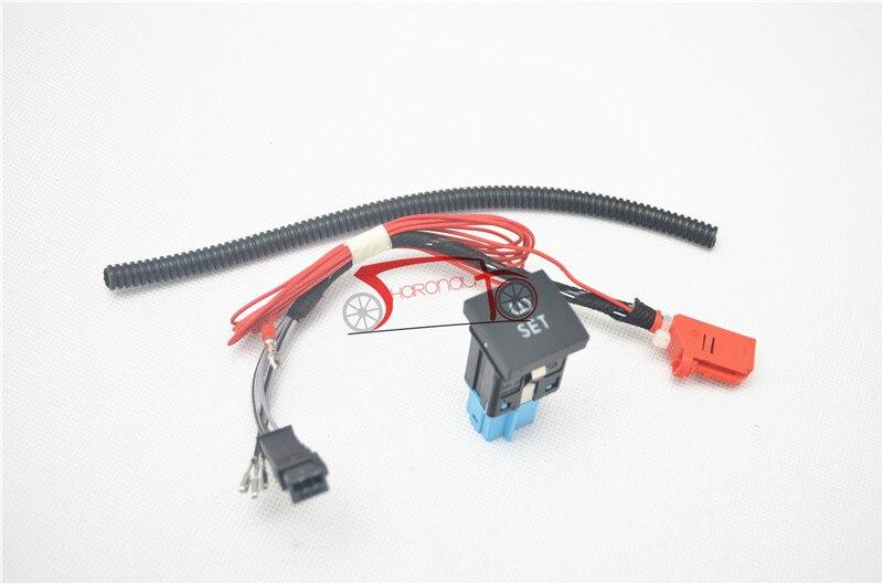 TPMS Sensor de presión de botón y alambre 56D927121 56D-927-121 accesorios de coche para Volkswagen VW Golf MK6 MK5 Jetta 6 5