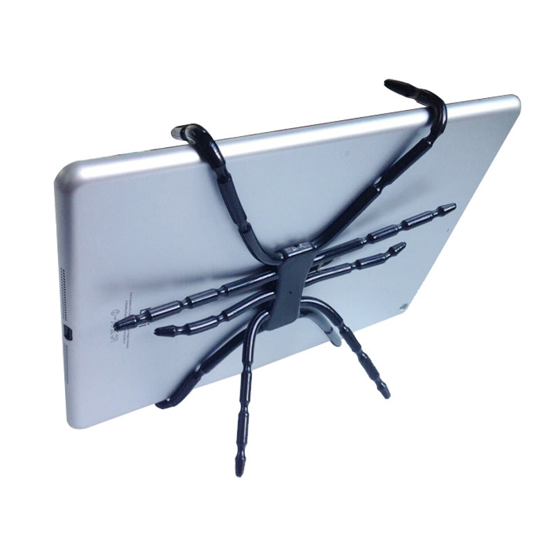 Spider Tablet Holder Octopus Tablet Stand for iPad iPhone Tablet Cell Phone Foldable Folding Mount on Bed Bike Car Desk HD01 drawstring spliced camo jogger pants