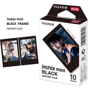 Image 2 - 30 ورقة حقيقية فوجي فيلم Instax فيلم إطار أسود صغير ل لحظة صغيرة 11 ، 7s ، 8 ، 90 ، 70 ، 25 ، 50s ، كاميرا فوتوغرافية SP 1/2