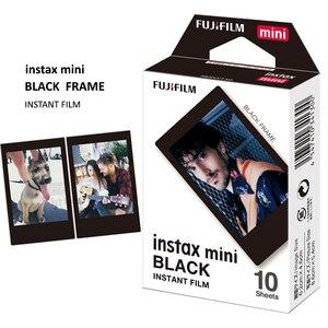 Image 2 - 30 Lenzuola Genuine Fujifilm Instax Mini Telaio Nero Pellicola Per Conferma Mini 11, 7s, 8, 90, 70, 25, 50s, Macchina Fotografica SP 1/2
