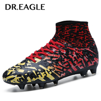 DR.EAGLE Spike sneakers soccer superfly cleats ankle sock cotton sock football boot trainers boots original football boots