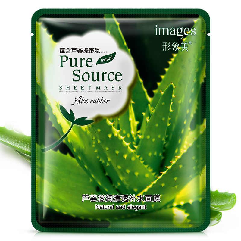 Lavanda coreano maschera per il viso acne Aloe Idratante Olio-controllo maschera per il viso di Ciliegio melograno Trattamento di Acne cura della pelle Del Viso