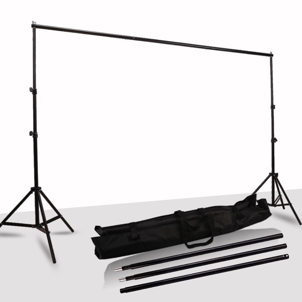 GSKAIWEN arrière-plan cadre Support système photographie Studio arrière-plan Support caméra Photo accessoires avec sac de transport