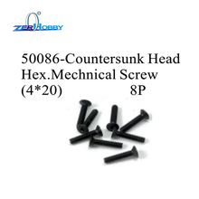 HSP RACING SPARE PARTS ACCESSORIES 50086 AND 50202 MECHNICAL SCREWS FOR HSP RC CARS
