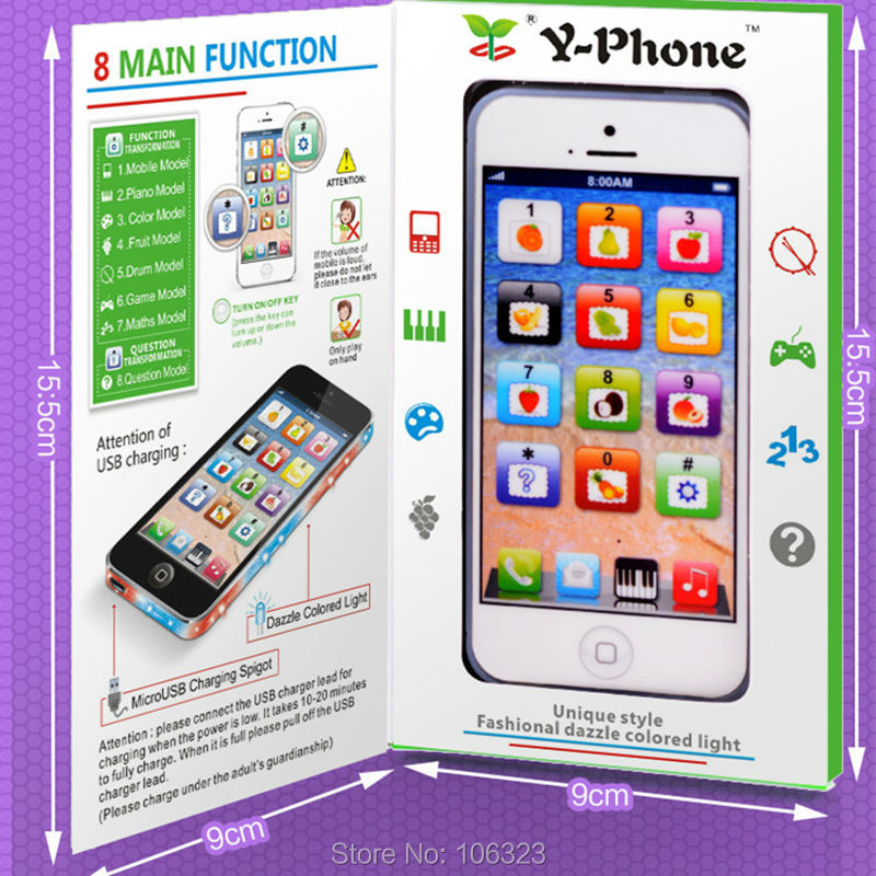 Y-Phone-English-Touch-Learning-Machine-Toy-Children-Y-phone-Fun-Learning-Toys-Chargable-by-USB-Baby-Educational-Gift-LED-Light-5