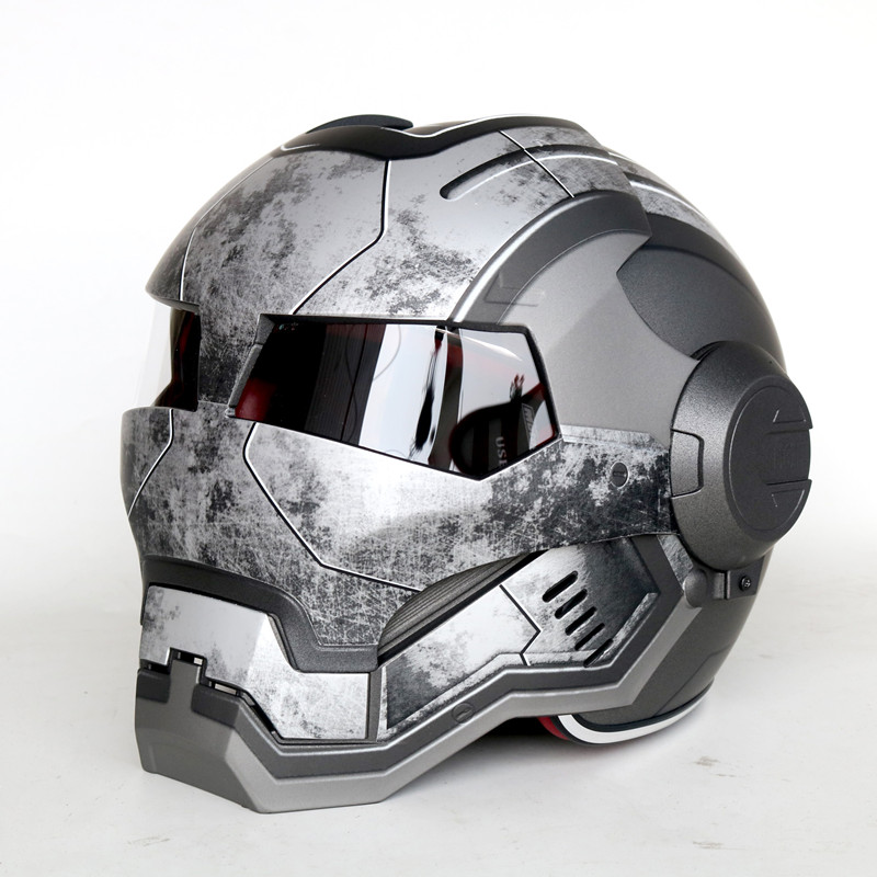 Personalized Motorcycle Helmet Vintage Off Road Motorcycle