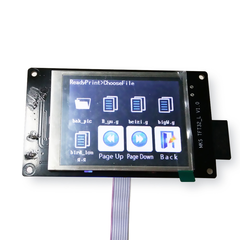 3.2 MKS touch screen lcd smart controller support U disk and SD card for 3D printer