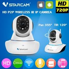 Vstarcam Cámara IP Wifi wi-fi 720 P de Visión Nocturna Inalámbrica MINI Tarjeta SD Onvif P2P CCTV Cámara de Seguridad de Interior Inicio Cam cámara de televisión