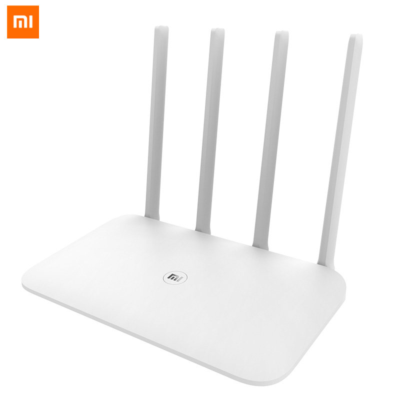 Original Xiaomi Router 4 Mi Wifi Repeater 2.4G 5GHz 1167Mbps Fiber-optic Full Gigabit Smart Router 128MB MiNet Fast APP Connect