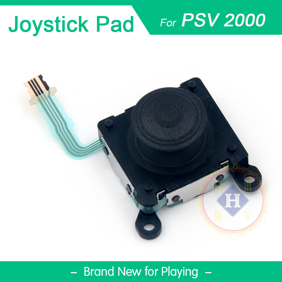 HOTHINK 1PCS Replacement  3D Left Right Analog Joystick Control Pad Stick Button For PS Vita Slim PCH-2000 PSVita PCH-2001