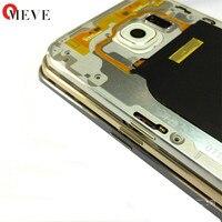 1pc White100 Original Housing Battery Cover Middle Frame White For Samsung Galaxy S6 G920A G920V G920P