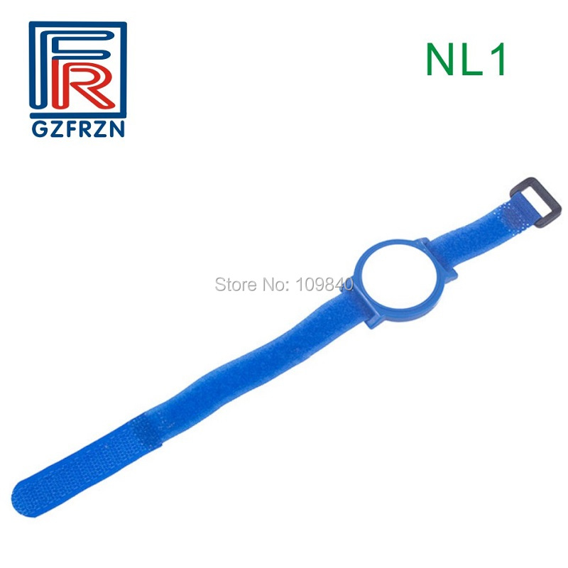 1pcs 13.56mhz RFID nylon wristband bracelet tag with Fudan 1K s50 chip for access control NFC payment wb01 silicone rfid wristband for access control nfc bracelet for mobile phone 144bytes iso14443a 13 56mhz with ntag 213 chip