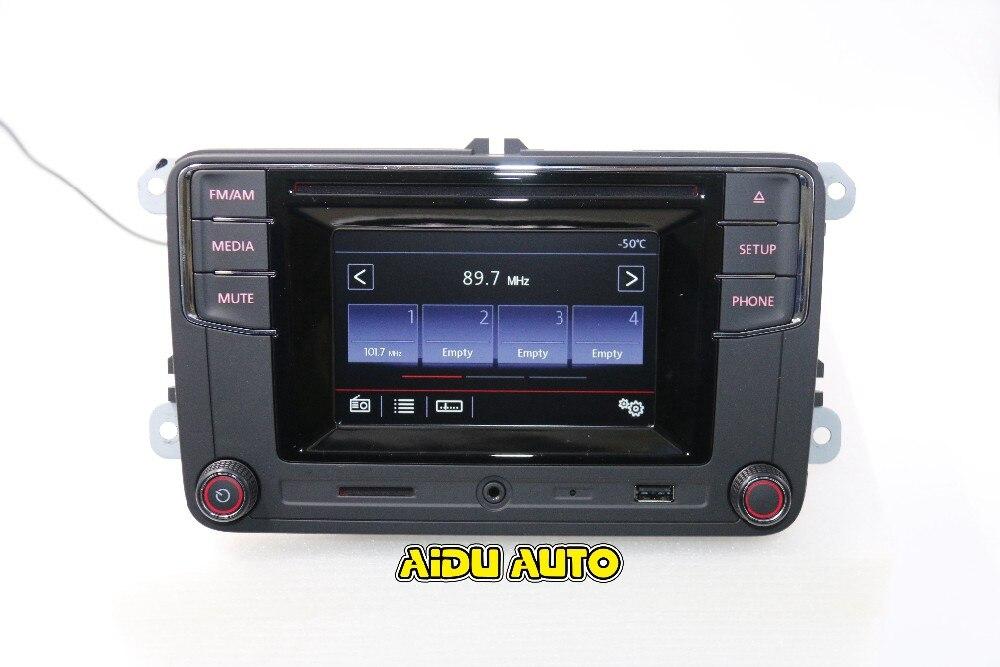 Free Shipping font b Car b font Bluetooth Radio New High Version MIB RCD510 RCN210 RCD330