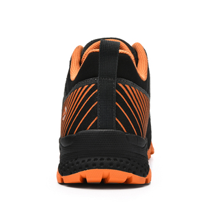 Image 4 - SALAMAN Mens Fur Leather Outdoor Hiking Camping Shoes Sneakers For Men Tourism Tracking Trekking Climbing Mountain Shoes Man