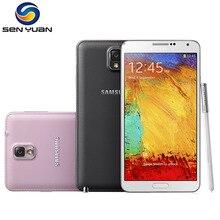 Orijinal Samsung Galaxy Not 3 N900 N9005 Cep Telefonu Quad Core 5.5