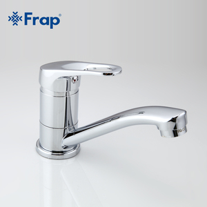 Image 4 - Frap 蛇口キッチンクローム仕上げデッキは単一のハンドルホット冷水トイレ家具 F4513 2