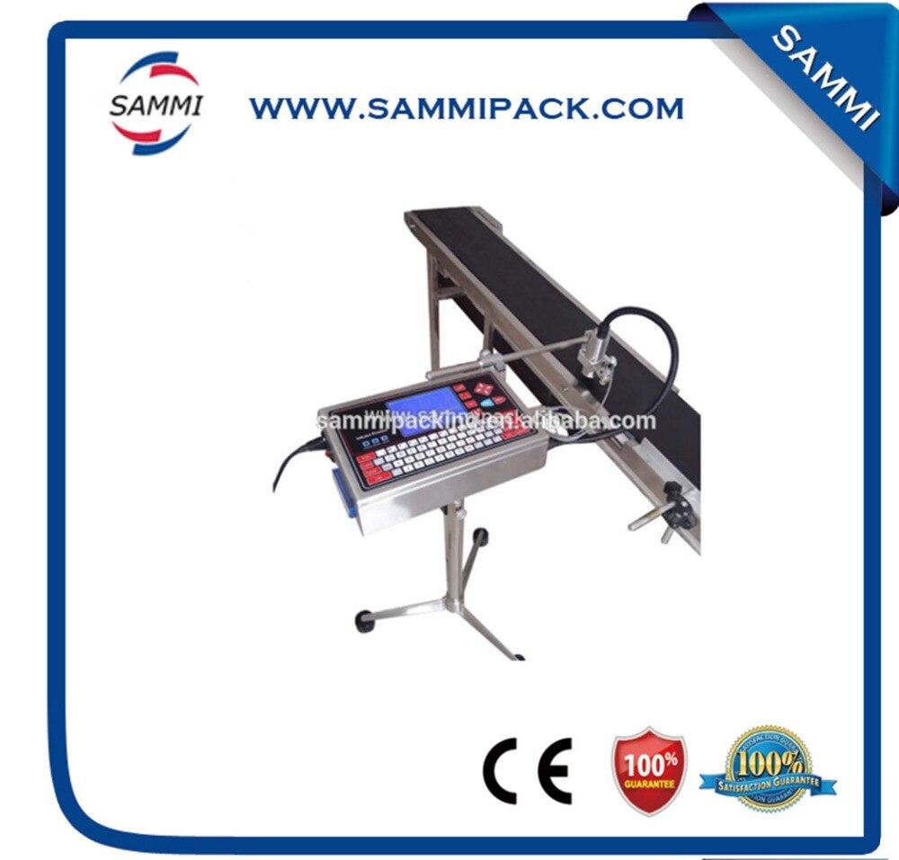 Продвижение цена A180F линия производства струйный принтер с конвейером для бутылки, бумаги, карты