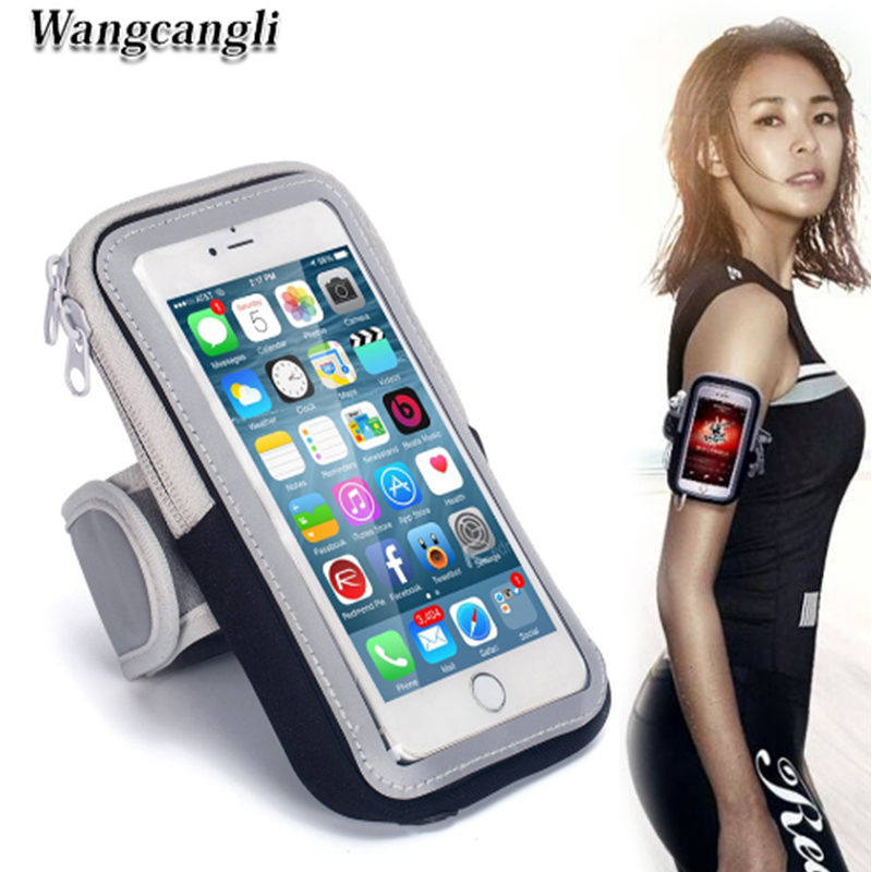 Wangcangli For Iphone Mobile Bracelet Run Phone Armband Cover For Running Arm Band The Holder Of The Phone On The Arm Discounts Price Armbands