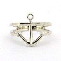 Твердые platinumanchor кольцо