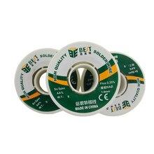 Melhor proteção ambiental solda fio de estanho reparo eletrônico solder0.3/0.4/0.5/0.6/0.8/1.0mm fio de solda rolo