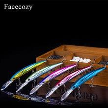 Señuelos de Pesca con forma de pececillo, señuelo Artificial de Color brillante, señuelo duro de pesca Crankb