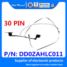 MAD DRAGON Brand laptop new EDP LVDS Lcd Cable for ZAH LVDS TOUCH CABLE DD0ZAHLC011 30 pin brand new laptop lcd lvds cable for fujitsu lifebook ah530 a530 ddfh2alc010