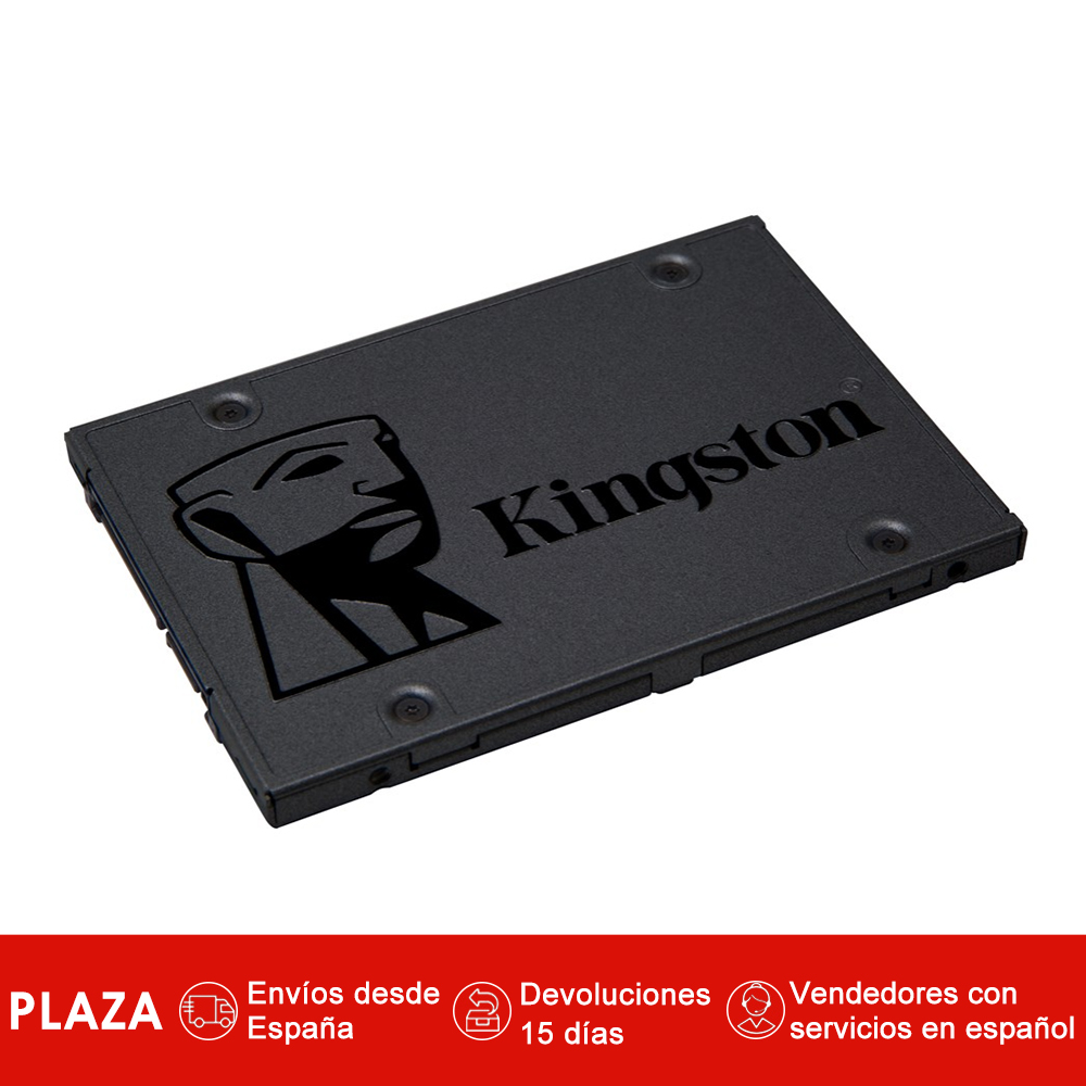 Kingston Technology A400, 480 go, 2.5 '', 450 mo/s/500 mo/s, 6 Gbit/s discothèques duros solidos internos SSD Color Negro