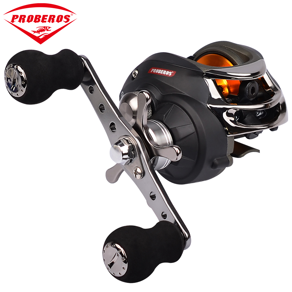 1PC Fishing Reel Top Quality Black Color Lure Reel 10 Ball Bearings 300g Right and Left Hand Water Drop Wheel Fishing Gear Pesca ts1200 fishing reels right left hand bait casting fishing reel lure reel pro 14 ball bearings fishing gear water drop wheel