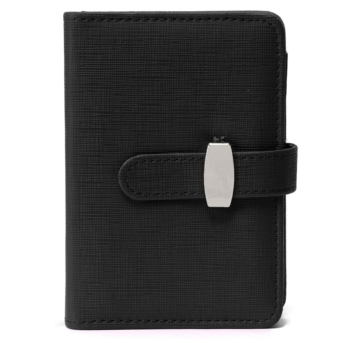 Fashion Modern Business Design A7 Personal Organiser Planner PU Leather Cover Diary Notebook School Office Stationery (Black) modern design a7 personal organiser planner pu leather cover diary notebook school office stationery black