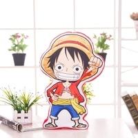 Anime Hancock Nami Luffy Chooper Una Pieza Amortiguador de la Felpa Almohada Alta Calidad Vendedora Caliente Del Cuidado Del Bebé Niños Juguete Relleno Felpa
