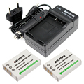 2 шт.  комплект аккумуляторов и зарядного устройства для Fujifilm X30  X100  X100S  X100T  NP-95  F30  F31 fd  F31fd