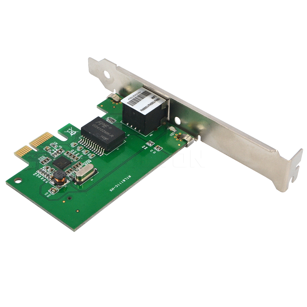 popular pci network cards buy cheap pci network cards lots from gigabit ethernet pci express pci e network card 10 100 1000m rj