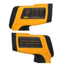 Promo offer Professional Infrared Thermometer GM1150 D:S=20:1 Portable Industrial Pyrometer 1150C Or 2102F 0.1~1EM Adjust Temperature Meter