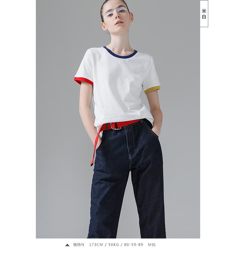 HTB1GildPFXXXXcdXXXXq6xXFXXXZ - T Shirt Women Short Sleeve O-Neck Cotton