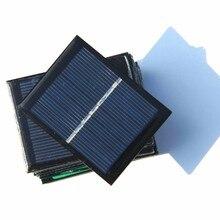 BUHESHUI 128MA 3.5V Solar Cell Polycrystalline Solar Panel Module DIY Solar Toy Panel Education 65*50mm 500pcs/lot Wholesale