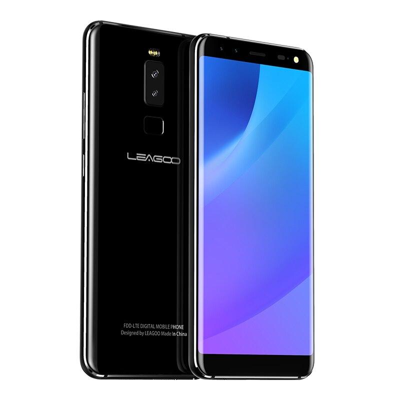 LEAGOO S8 4G LTE телефон mt6750t восемь ядер Android 7,0 3 ГБ Оперативная память 32 ГБ 2940 мАч 4 камеры отпечатков пальцев 5,7 дюймов мобильных телефонов