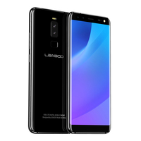 LEAGOO S8 4G LTE Phone MT6750T Octa Core Android 7.0 3GB RAM 32GB 2940mAh 4 Cameras Fingerprint 5.7 Inch Mobile Phones