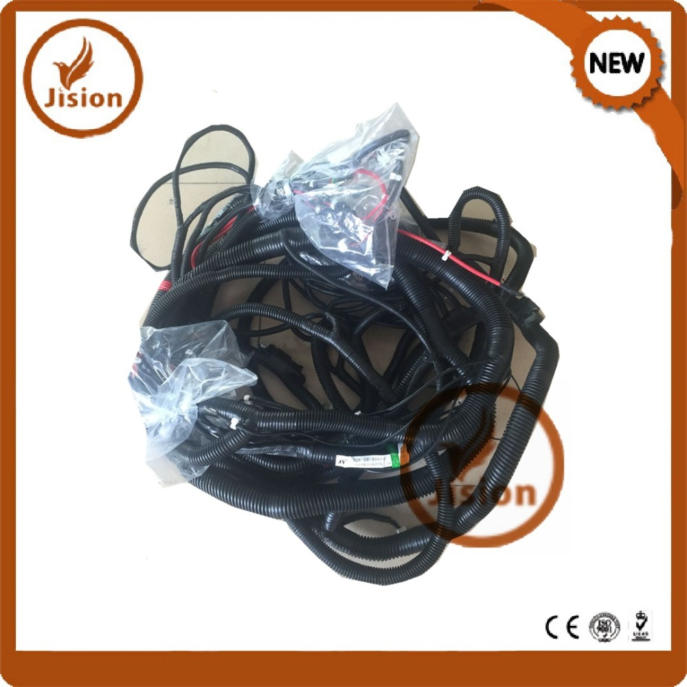 Jision Original 20y 06 31614 31612 31613 Wiring 7 Wire Harness Pc200 Free Shipping In Pressure Sensor From Automobiles Motorcycles On