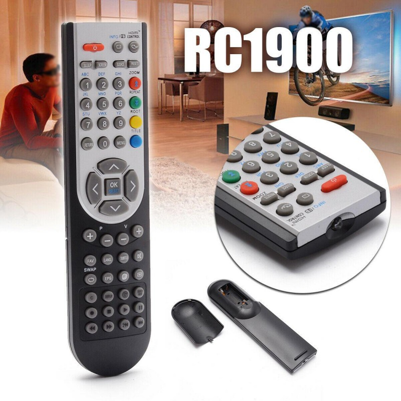 RC1900 Universal Replacement Remote Control For LCD TV Vestel/OKI/Toshiba/Grundig/Finlux TV